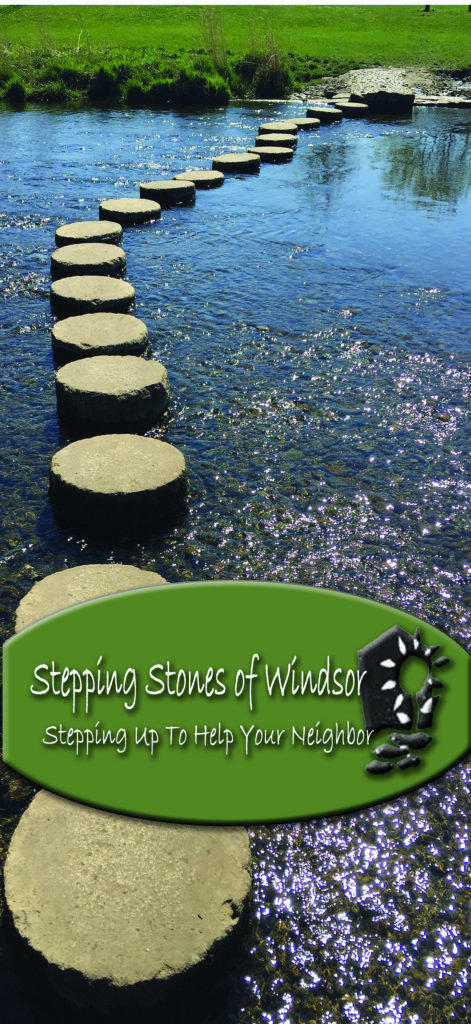stepping stones rack card